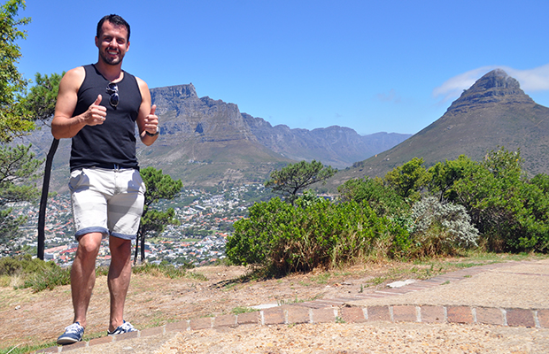 Como subir a Table Mountain