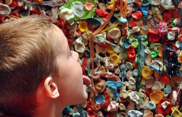Conheça a parede de chiclete de Seattle
