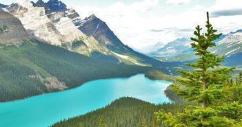 As fantásticas montanhas do Canadá