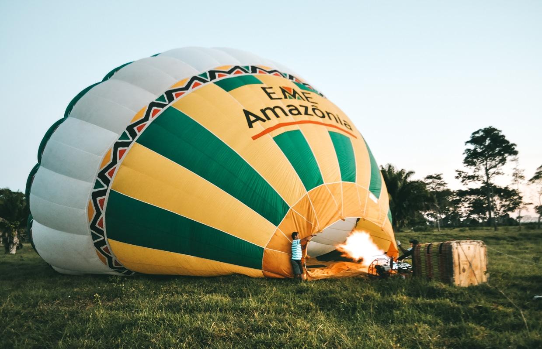 Voo de balão no Acre