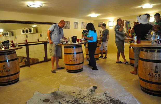 O passeio pelas vinícolas de Cape Town