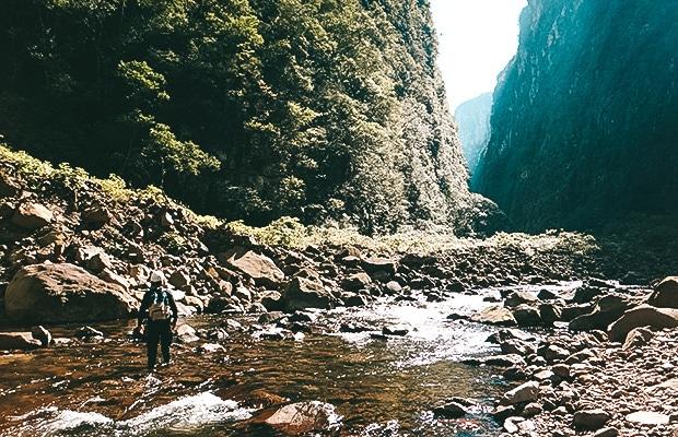Cânion Itaimbezinho: a trilha do Rio do Boi, no Parque Nacional da Serra Geral