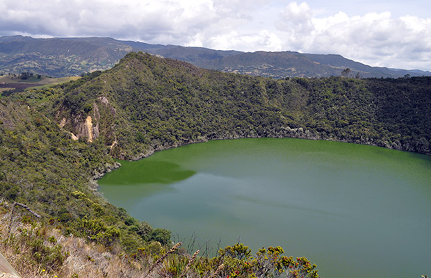 Lagoa de Guatavita e a lenda do El Dorado