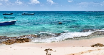 O passeio pelas Ilhas Johnny Cay e Acuario
