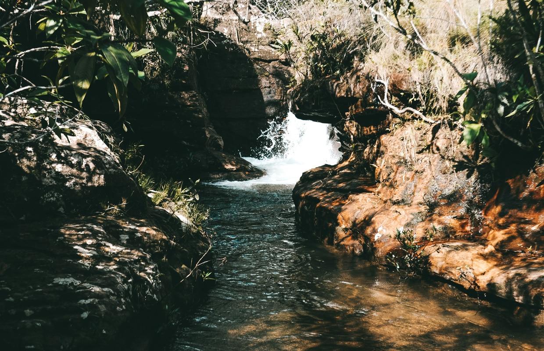 Cachoeiras na Chapada dos Guimarães