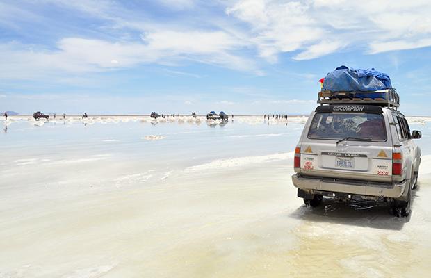 Viagem de três dias pelo Salar de Uyuni