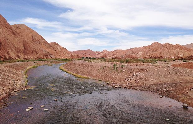 O passeio de bicicleta no Atacama