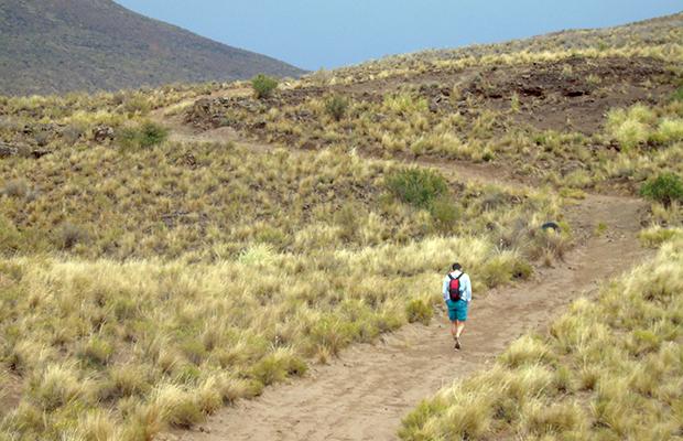 Ojo del Inca: a cratera que virou lagoa