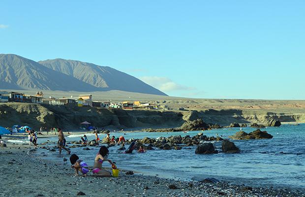 De Antofagasta ao balneário Juan López