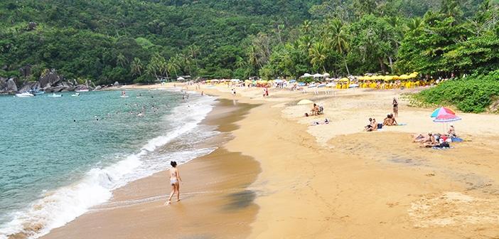 Ilhabela: a paradisíaca praia de Jabaquara