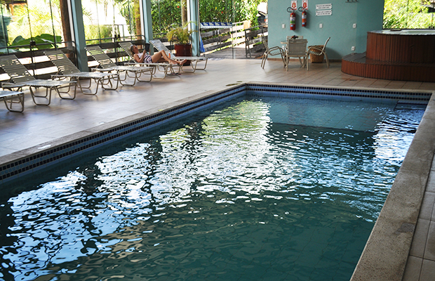 Como é se hospedar no Hotel Águas de Bonito