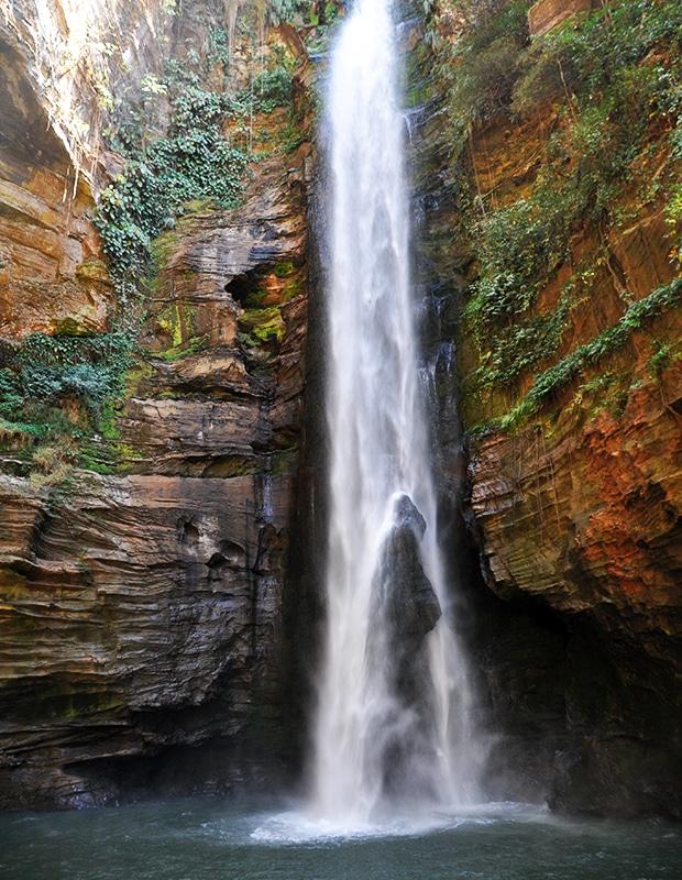 As cachoeiras de Carolina