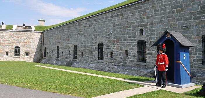 Uma histórica visita à Citadelle de Quebec