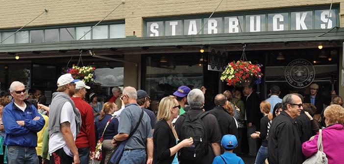 Conheça a primeira Starbucks do mundo