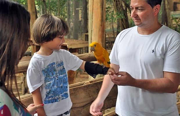 Bird Land: a terra dos pássaros do Rio Quente Resorts