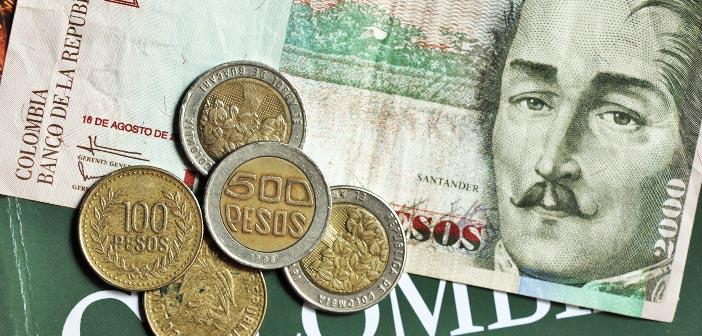 Dinheiro na Colômbia