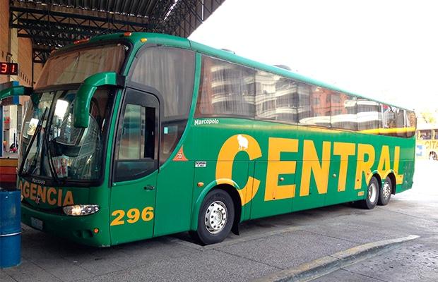 Como é viajar de ônibus no Uruguai
