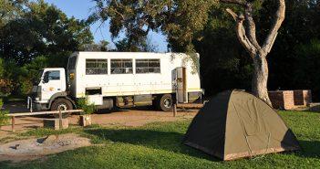 A ventura de viajar pelo sul da África