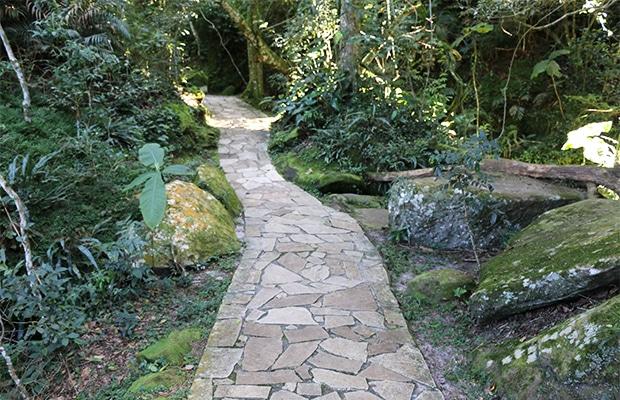 Os arenitos do Parque Estadual de Vila Velha