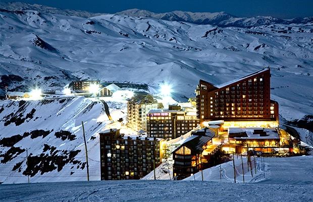 O famosos Valle Nevado.