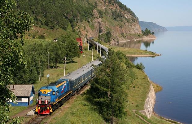 Você pode dar a volta ao mundo de trem
