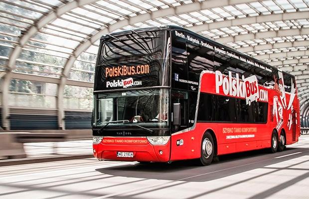 Como é viajar de ônibus na Polônia
