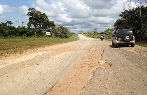 Colômbia de carro, de ônibus e de avião