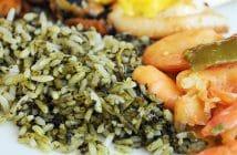 O arroz de cuxá maranhense
