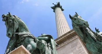 Conheça a Praça dos Heróis, em Budapeste