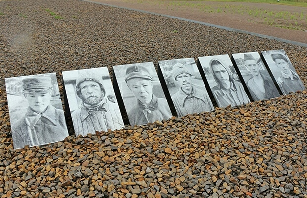 Como é a visita a Sachsenhausen