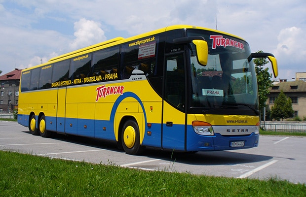 Dicas para viajar de ônibus na Eslováquia