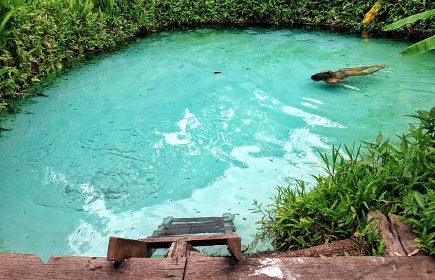 Os incríveis fervedouros do Jalapão