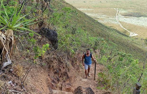 Como é subir a Serra do Espírito Santo, no Jalapão