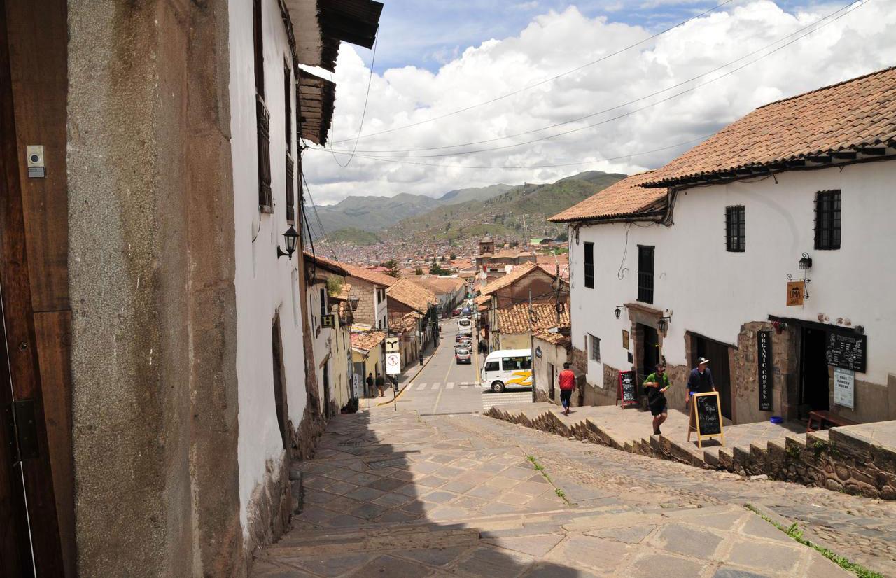 Onde ficar em Cusco: ladeiras