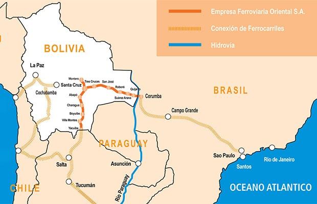 Como chegar à Bolívia
