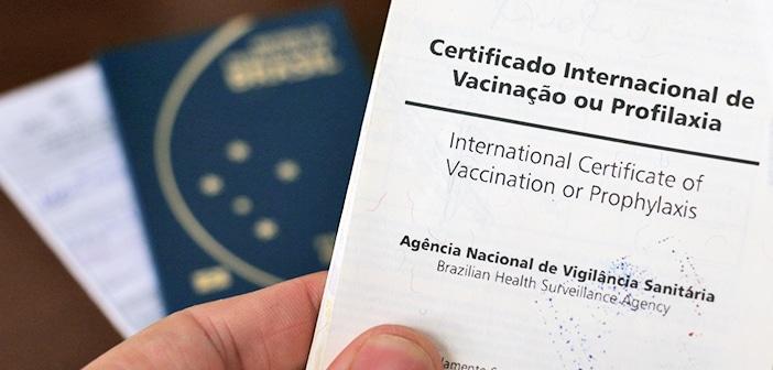 Como solicitar o certificado de vacinação
