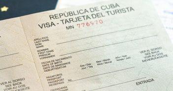 Como comprar o visto para Cuba