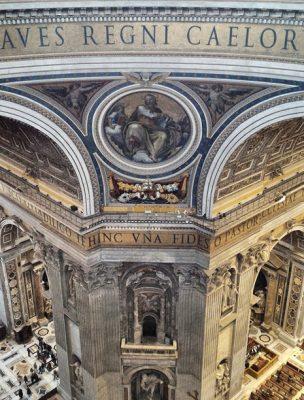 Visite a cúpula da Basílica de São Pedro