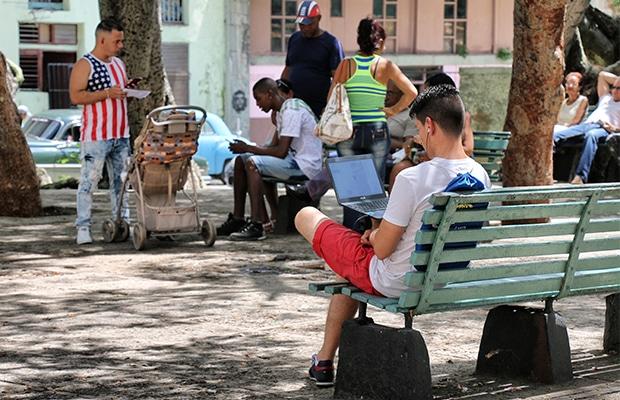 Como funciona a internet em Cuba