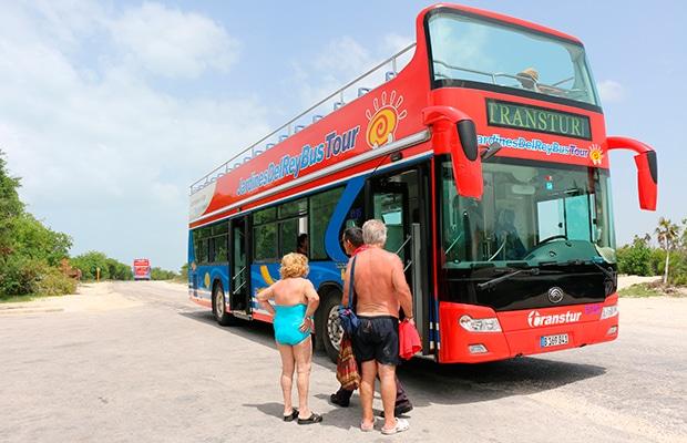 Como funciona o ônibusem Cayo Guillermo