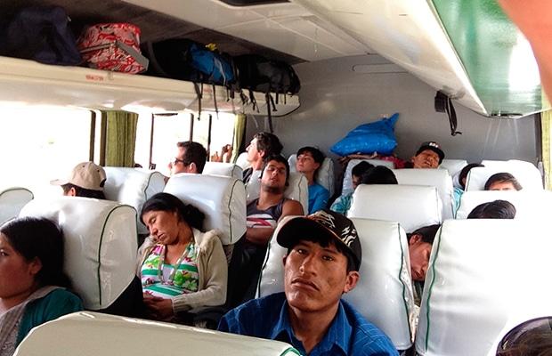 Como é viajar de ônibus na Bolívia