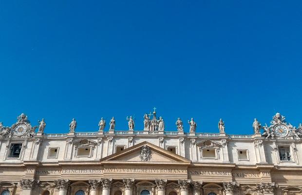 Praça São Pedro e o memorável encontro com o papa