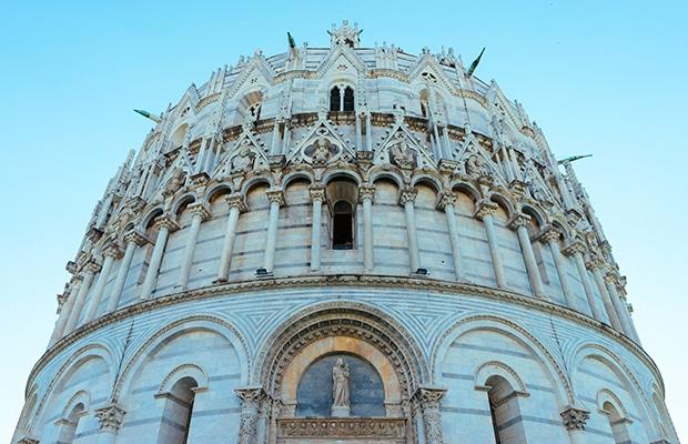 Uma cidade muito além da Torre de Pisa