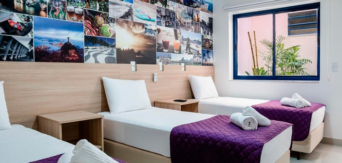 10 melhores opções de hostel no Rio de Janeiro