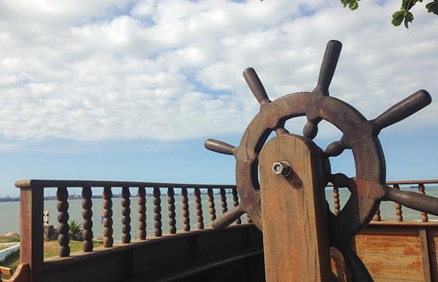 Visita ao Farol de Santa Luzia