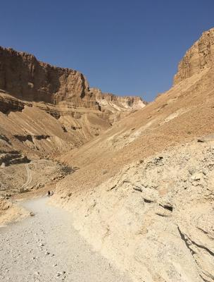 As ruínas de Massada e o incrível Mar Morto