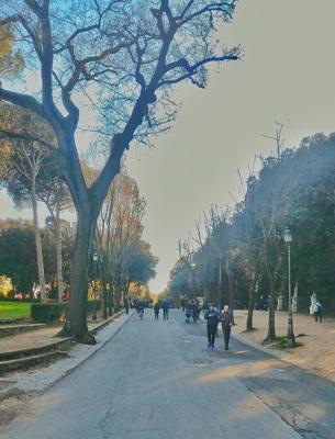 Villa Borghese: um parque no meio da cidade grande