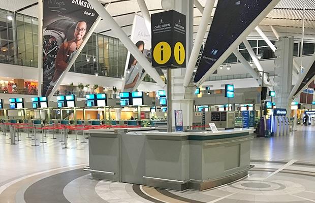 Como ir do aeroporto ao centro de Cape Town