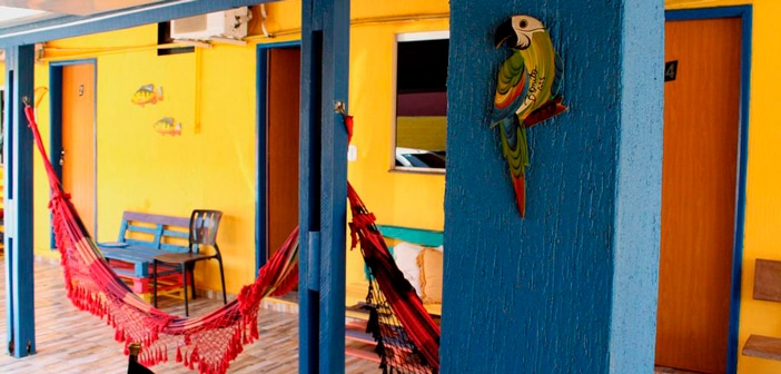 Opções de hostel em Bonito