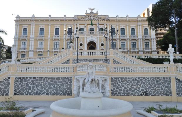 Visita ao Palácio Anhieta